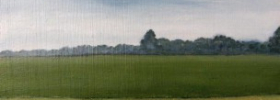 Behind Fields – Oil Painting