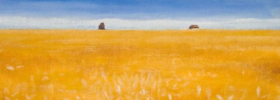 Wheat Field – Oil Painting