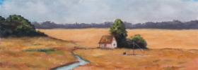 Meadows and Brooks – Oil Painting