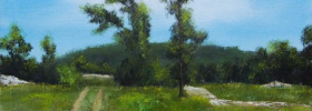 A Path… – Oil Painting