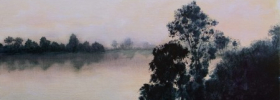Misty River  – Oil Painting