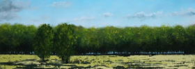 River Pond – Oil Painting