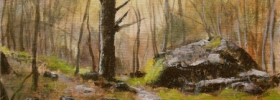 Forest Path – Oil Painting