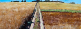 Through the Fields – Oil Painting
