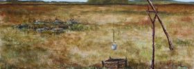 Abandoned Farm – Oil Painting