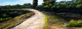 Forest Road – Oil Painting