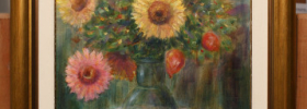 Flower Arrangement – Oil Painting