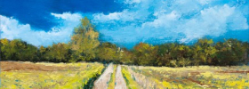 Fields Road – Oil Painting