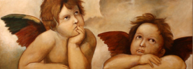 Raphael's Angels – Oil Painting