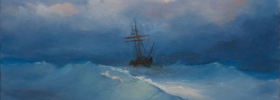 Sailing – Oil Painting