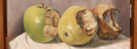 I-Painting Apple – Oil Painting