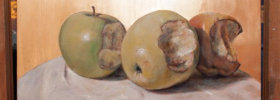 I-Painting Apple EDITION – Oil Painting