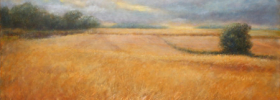 Barley Field – Oil Painting