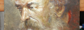 Portrait of an Old Man – Oil Painting