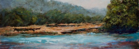 Pursuing Streams – Oil Painting