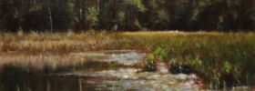 Marsh  – Oil Painting