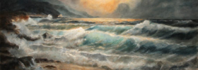 Sea and Waves – Seascape Oil Painting