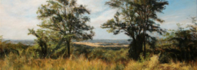 In the Country – Landscape oil painting