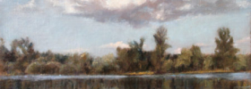 The River – Landscape Oil painting