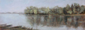 Down the River 2 – Landscape Oil painting