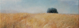 Wheat Field- Landscape Oil painting