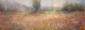 Misty Fields – Landscape Oil painting