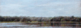 River – Landscape Oil painting