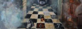 The Game of Life – Symbolic Fantastic Surreal Oil Painting