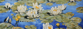Waterlilies – Landscape Oil Painting