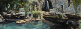 Vidrovan Spring –  Commissioned Landscape Oil Painting