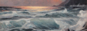 By the Seaside – Seascape Oil Painting