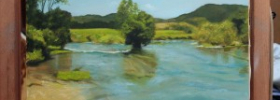 River Una – Oil Painting