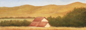 Farm Scape – Oil Painting