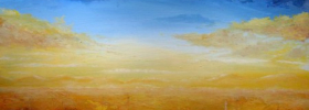 Golden Dawn – Oil Painting