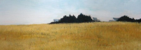Golden Fields – Oil Painting