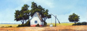 Granny's Farm – Oil Painting