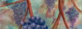 Grapes – Oil Painting