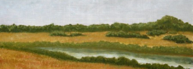 Old River – Oil Painting