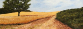 Path through the Fields – Oil Painting