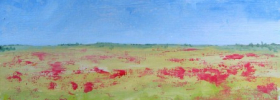 Poppy Field – Oil Painting