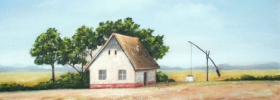 Uncle's Farm – Oil Painting