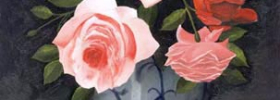 Roses – Oil Painting