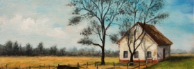 The Country – Oil Painting