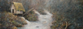 Water Mill – Oil Painting