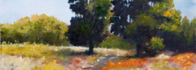 Through the Trees – Oil Painting