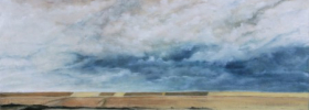 People of the Sky – Oil Painting
