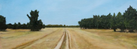 …Through the Fields – Oil Painting