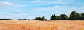 Fields of Wheat – Oil Painting