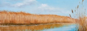 Jegricka River – Oil Painting