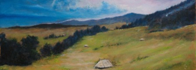 Hills – Oil Painting